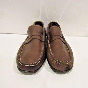 FLORSHEIM Jasper Size 10 Brown Loafers Mens Shoes